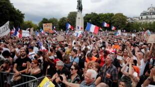 2021-07-24T165246Z_805386220_RC22RO9TIDTC_RTRMADP_3_HEALTH-CORONAVIRUS-FRANCE-PROTEST