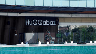 صورة للمطعم الذي حصل فيه اغتيال نائب القنصل التركي في أربيل