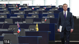 نايجل فاراج    قائد حز ب البريكست المناهض للاتحاد الأوروبي