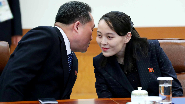 كيم يو جونغ شقيقة الزعيم الكوري الشمالي التي تزور سيول