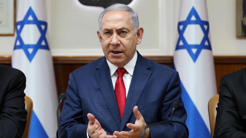 رئيس الوزراء الإسرائيلي بنيامين نتانياه