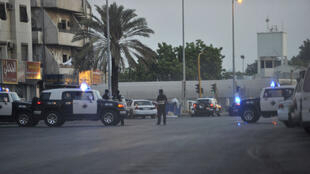 مكان وقوع التفجير الانتحاري في جدة ( 04-07-2016)