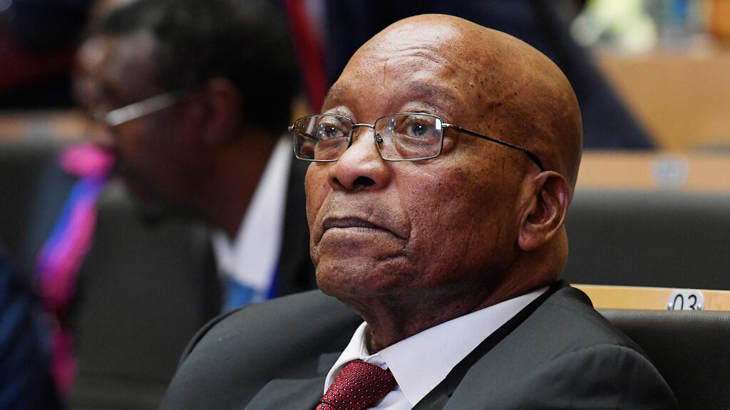 رئيس جنوب إفريقيا  السابق جاكوب زوما