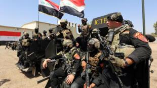 القوات العراقية الخاصة لمحاربة تنظيم داعش تتدرب لاستعادة الموصل (مارس-آذار 2016)