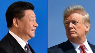 الرئيسان الأمريكي والصيني