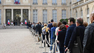 فرنسيون في قصر الإليزيه يكرمون الرئيس الراحل جاك شيراك