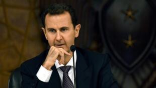 الرئيس السوري بشار الأسد في دمشق
