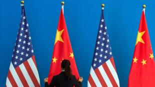 أعلام الولايات المتحدة والصين