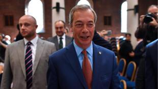 نايجل فاراج، رئيس حزب الاستقلال البريطاني (04-07-2016)