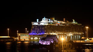 السفينة السياحية العالقة قرب روما يوم 30 يناير 2020