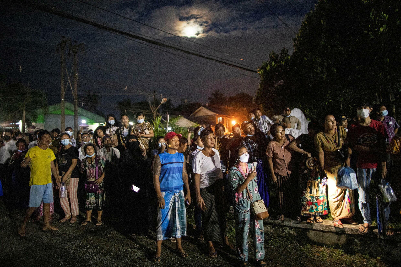 Myanmar's Junta releases prisoners in Yangon