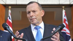 رئيس الوزراء الاسترالي السابق طوني أبوت