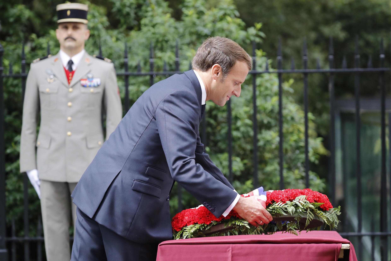 macron londres de Gaulle