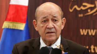 جان إيف لودريان وزير خارجية فرنسا