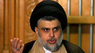 رجل الدين الشيعي البارز مقتدي الصدر