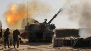 المدفعية الإسرائيلية تقصف أهدافاً في غزة