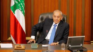 نبيه بري رئيس مجلس النواب اللبناني