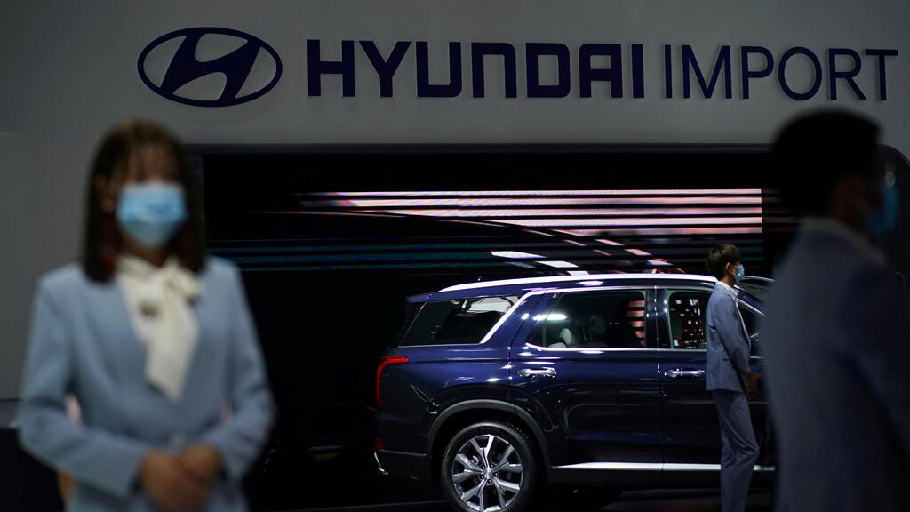 معرض لسيارات هيونداي في العاصمة الصينية بكين