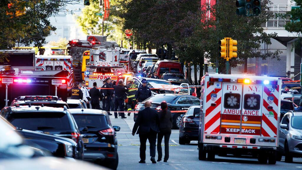 حادث إطلاق نار في نيويورك