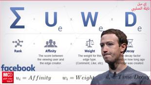 مارك زوكيربرغ يعدل خوارزميات منصة فيسبوك