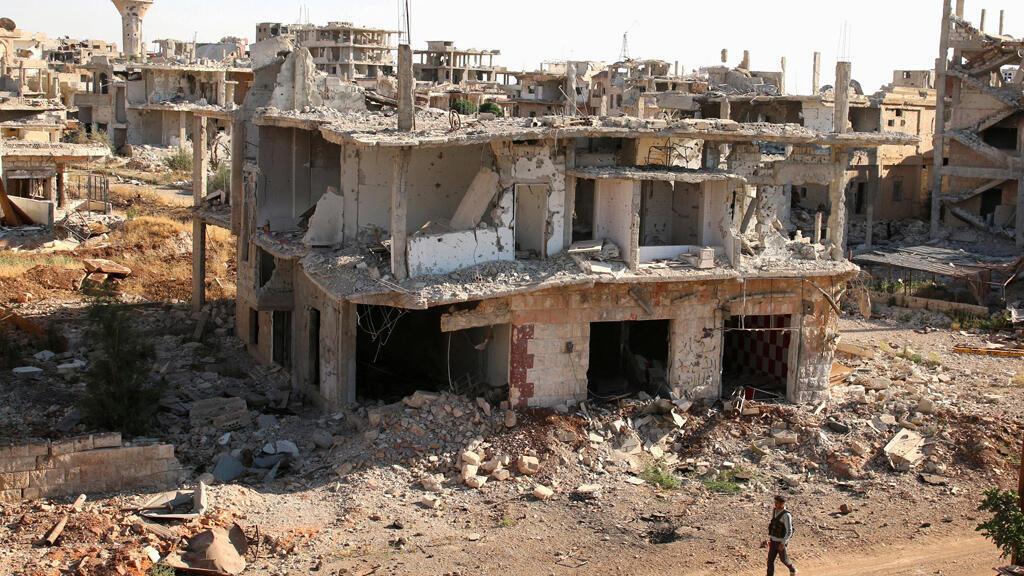 مشهد من مدينة درعا في جنوب سوريا