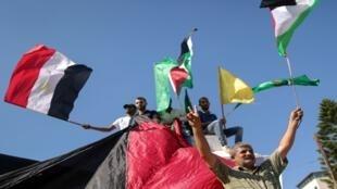 egypte palestine