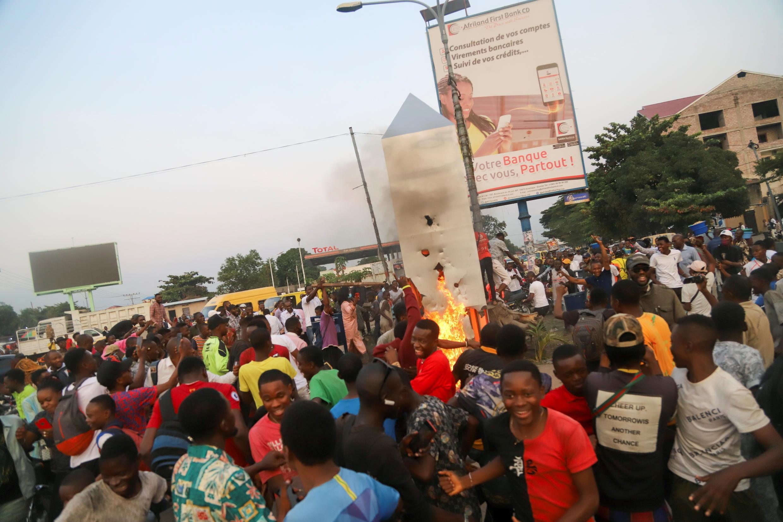 تدمير أحجار غامضة في جمهورية كونغو الديمقراطية