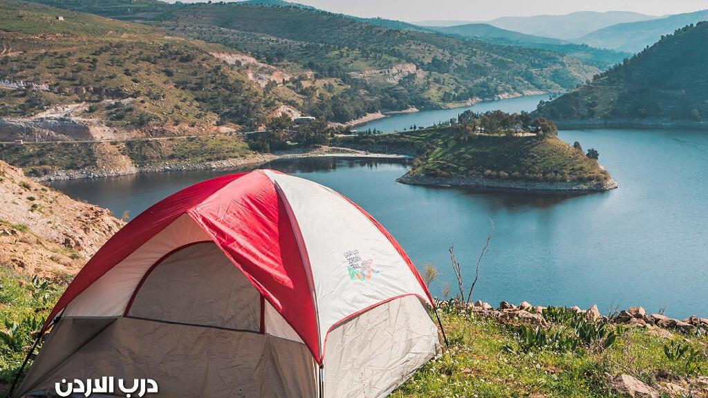 منظر طبيعي من مسار درب الأردن
