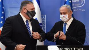 USA-ISRAEL-POMPEO_netanyahu