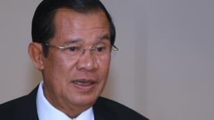 رئيس الوزراء الكمبودي هون سين