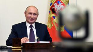 الرئيس الروسي في العاصمة موسكو