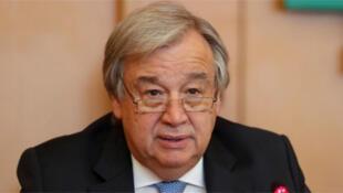/أنطونيو جوتيريش الأمين العام للأمم المتحدة