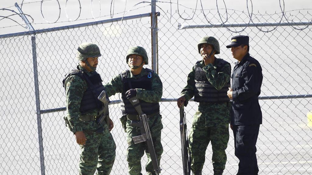 في سجن مدينة ثيوداد خواريث المكسيكية