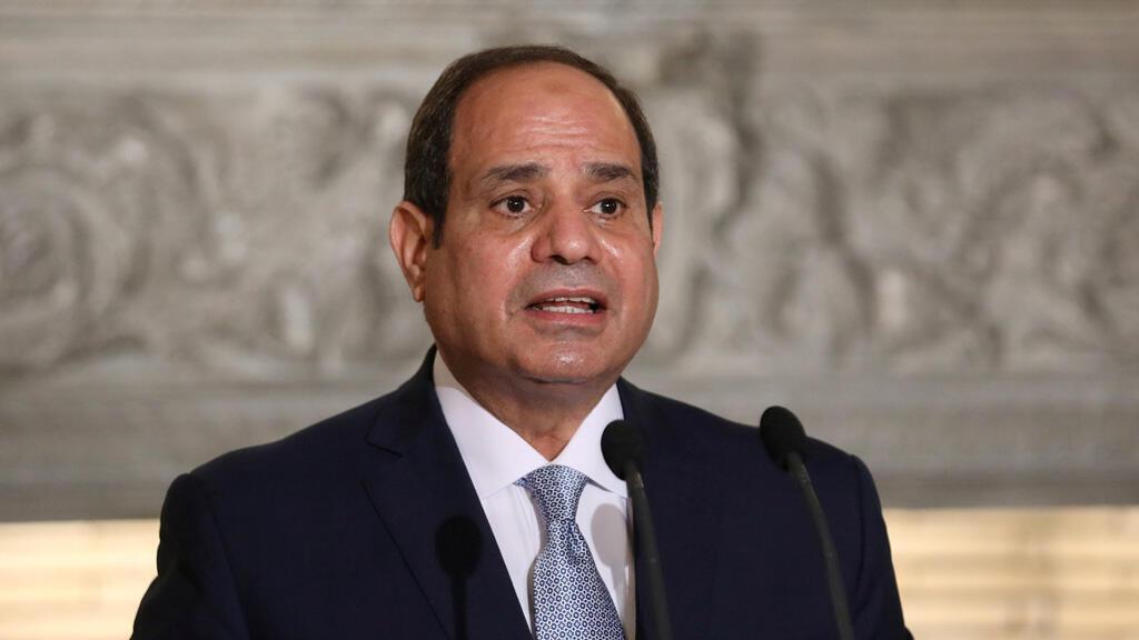 الرئيس المصري عبد الفتاح السيسي في أثينا