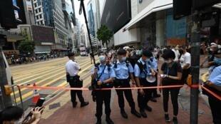 شرطة هونغ كونغ