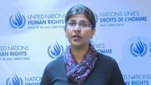 رافينا شامداساني المتحدثة باسم مكتب حقوق الإنسان
