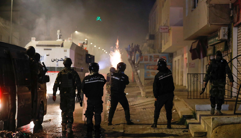 TUNISIA-PROTESTS