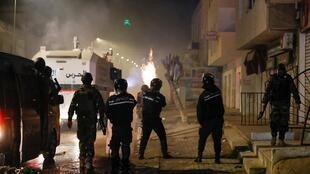 TUNISIA-PROTESTS