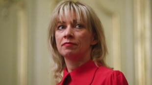 المتحدثة باسم وزارة الخارجية ماريا زاخاروفا