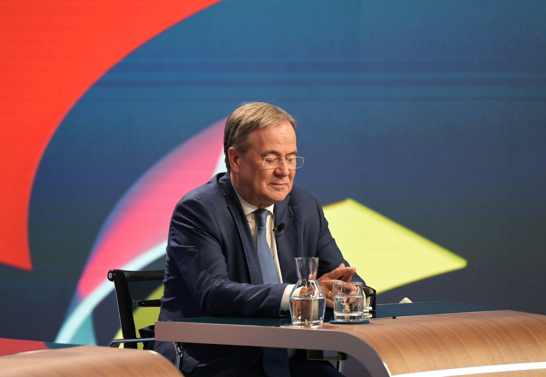 زعيم الاتحاد الديمقراطي المسيحي  وأكبر مرشح لمنصب مستشار ألمانيا أرمين لاشيت