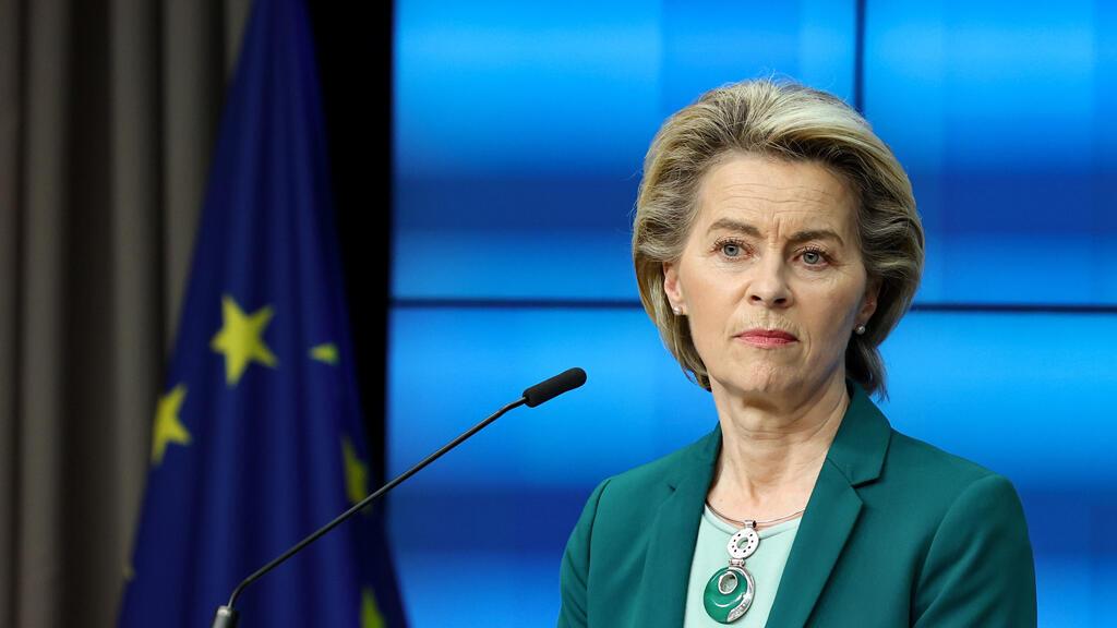 رئيسة المفوضية الأوروبية أورسولا فون دير لايين في بروكسل