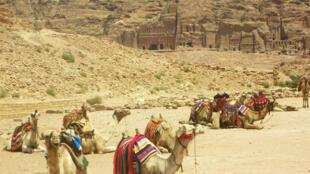 في بترا بالأردن