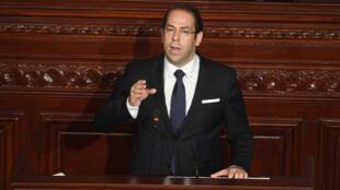 رئيس الوزراء التونسي يوسف الشاهد يناقش محاربة الفساد، البرلمان 20-07-2017