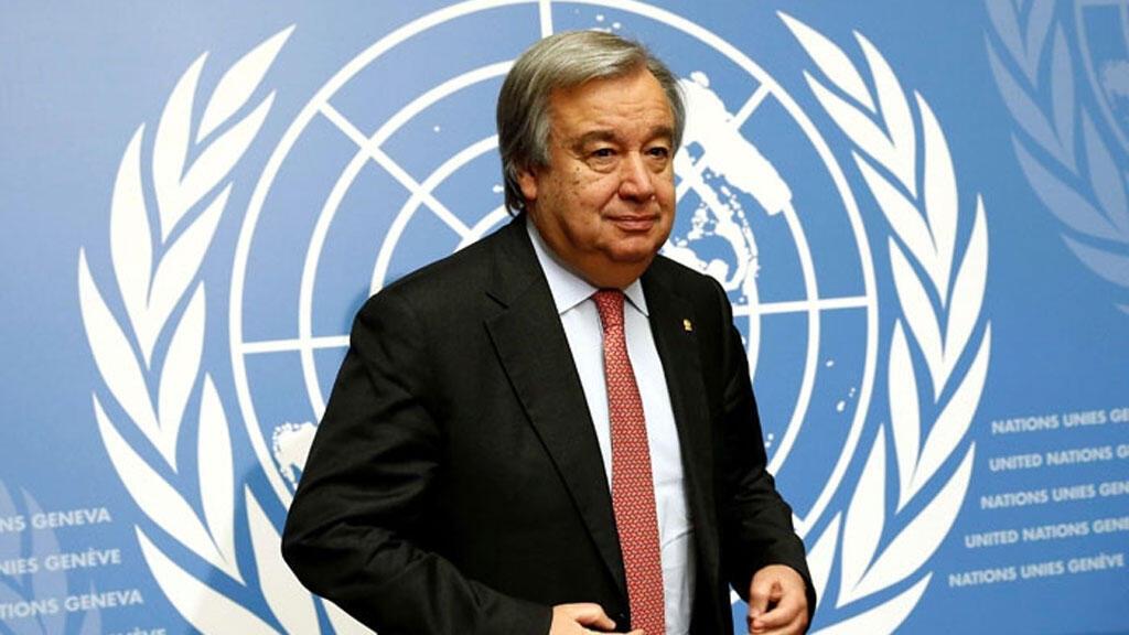 الأمين العام للأمم المتحدة انتونيو غوتيريش