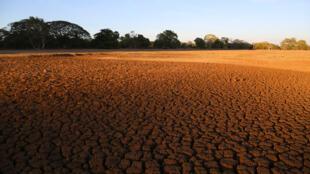 تشقق الأرض نتيجة التصحر