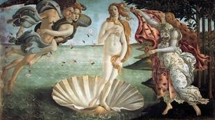 The Birth of Venus Painting by Sandro Botticelli
