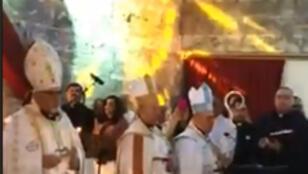 قداس بكنيسة مار بولص للكلدان في الموصل الأحد 24-12-2017