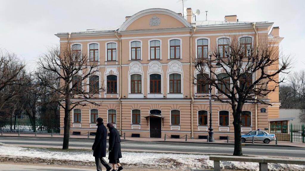 القنصلية البريطانية في روسيا