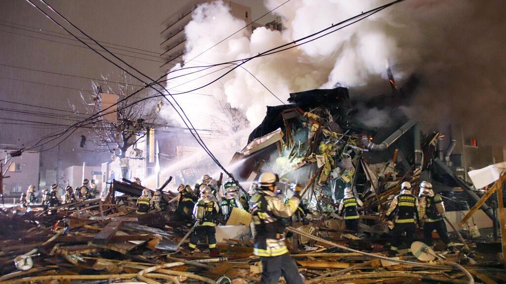 الدمار نتيجة الانفجار