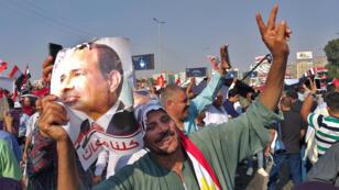 أنصار السيسي يتظاهرون في القاهرة يوم 27 سبتمبر 2019